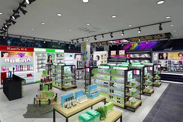 商场化妆品展柜如何有效减少消费者的挑选翻动?