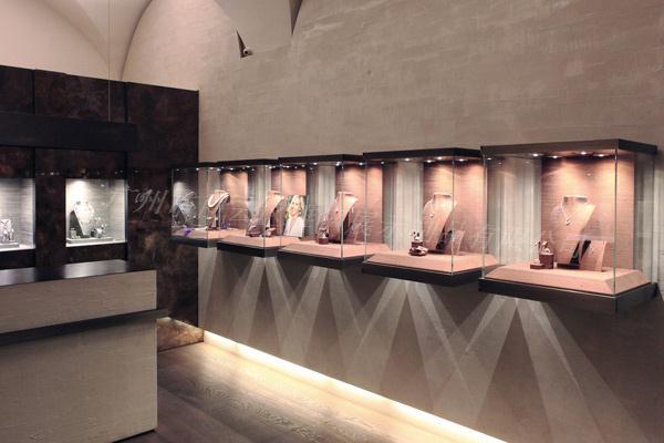 珠宝展示柜设计要点分析