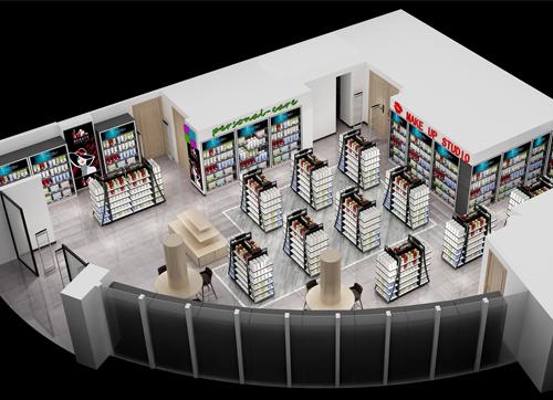 化妆品商场